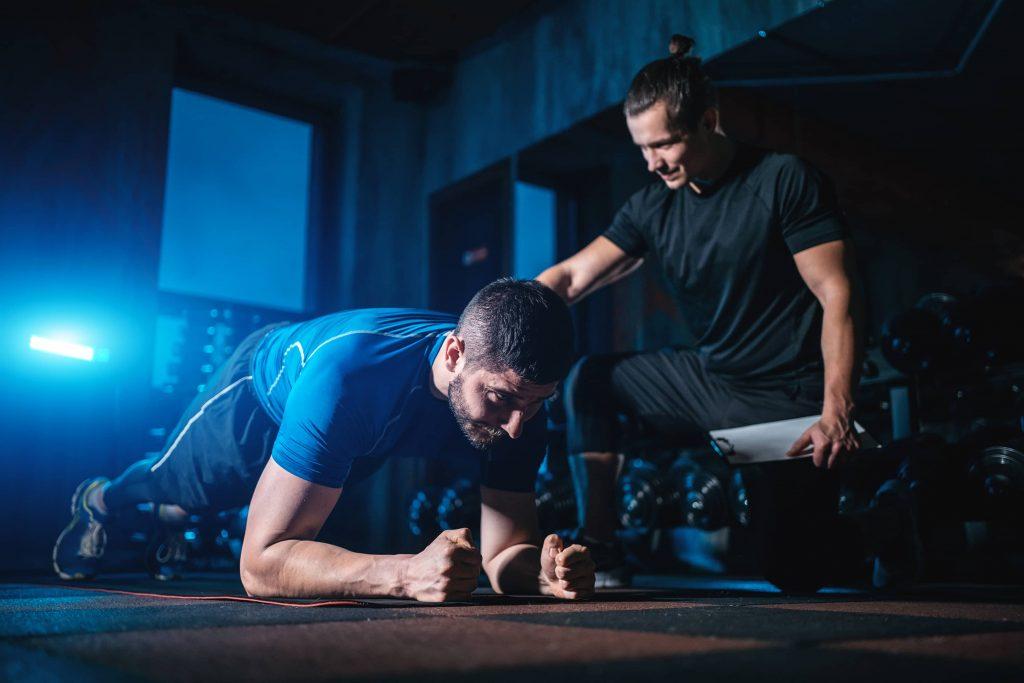 Personal trainer en coaching individuel